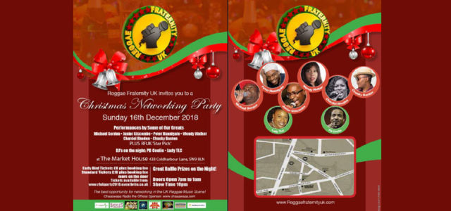 Reggae Fraternity Xmas Party Competition