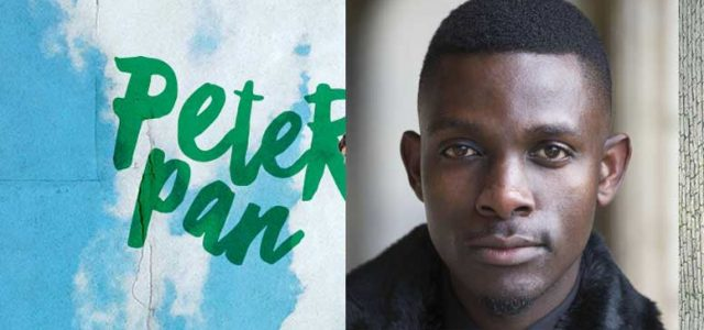 John Pfumojena plays Peter Pan