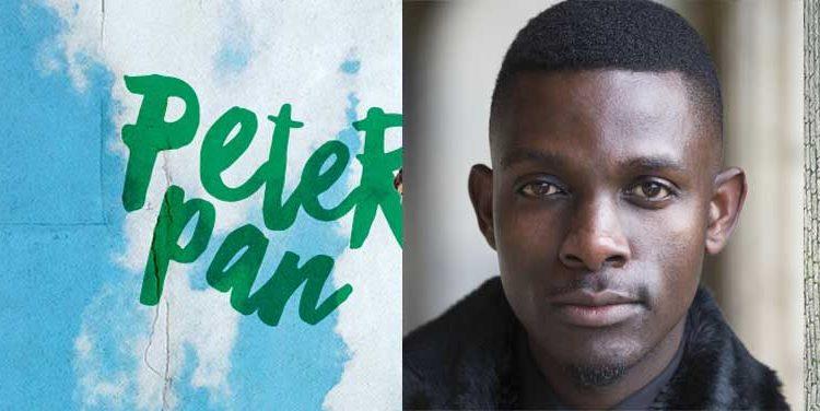 John Pfumojena plays Peter Pan