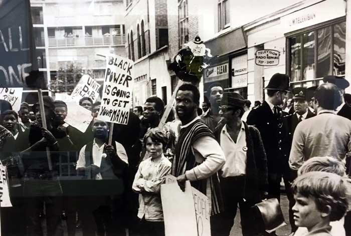 Black Power Demonstrations - Early 80s